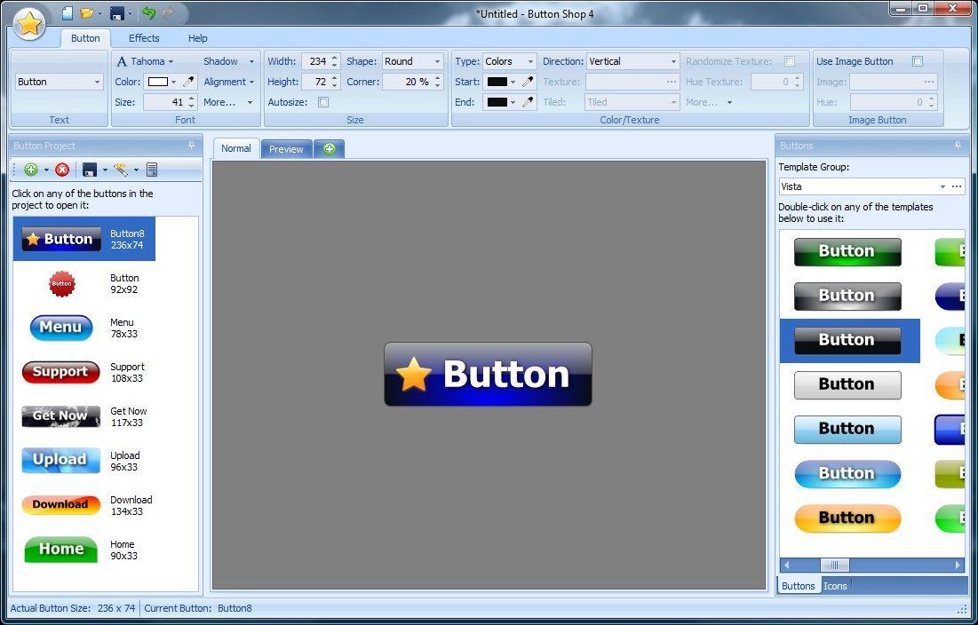 Программа создания кнопки сайта все о создании сайта в юкоз