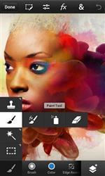 Скриншоты к Photoshop Touch for phone 1.1.1