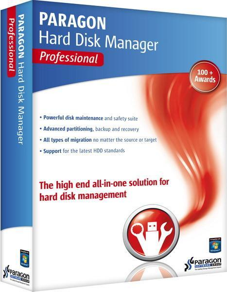 Paragon Hard Disk Manager 14 Professional 10.1.21.623 + Boot Media Builder Rus