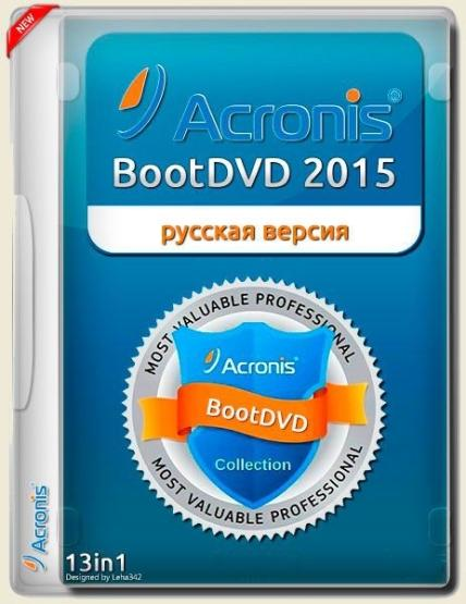 Acronis BootDVD 2015 Grub4Dos Edition v.27 (13 in 1)