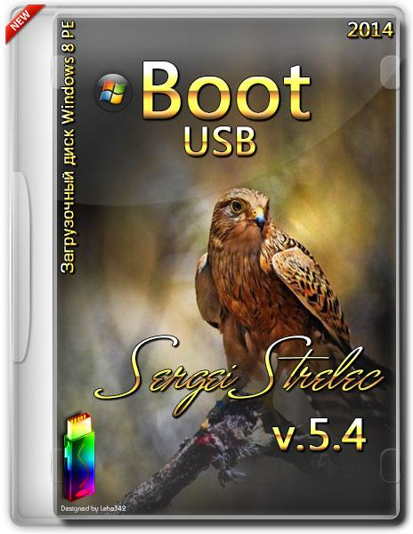 Boot USB Sergei Strelec Windows 8 PE v.5.4 (2014/x86/x64)
