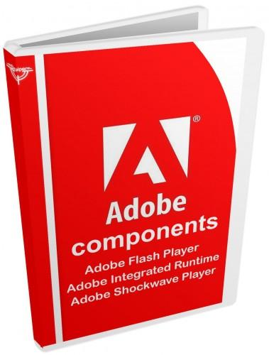 Adobe components: Flash Player + AIR + Shockwave Player RePack by D!akov