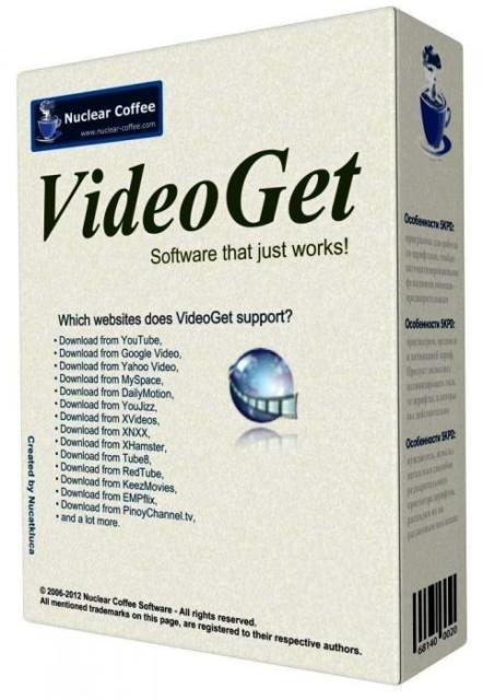 Nuclear Coffee VideoGet v7.0.3.89 (2014) PC | Portable
