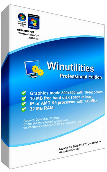 WinUtilities Professional Edition 11.13 RePack by loginvovchyk