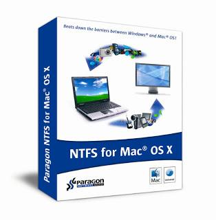 Paragon NTFS for Mac OS X 10.0.2