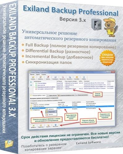 Exiland Backup 3.7 rus/eng + Portable