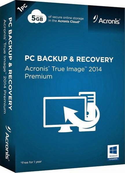 Acronis True Image 2014 Premium 17 Build 6673 (ENG) by KpoJIuK