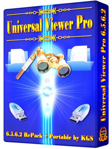 Universal Viewer Pro 6.5.6.2 ML/Rus RePack + Portable by KGS