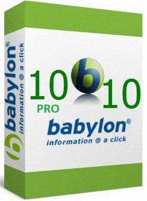 Babylon Pro 10.5.0.6 Retail + Voice Pack + Full Dictionaries (2015) PC