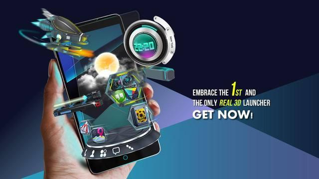 Next Launcher 3D v3.12 Final (2014/RUS/ENG/Multi/Android)