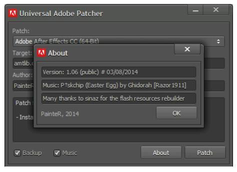 Universal Adobe Patcher 1.06 PainteR