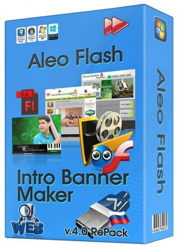 Aleo Flash Intro Banner Maker 4.1 (2015) PC | RePack & Portable by dinis124