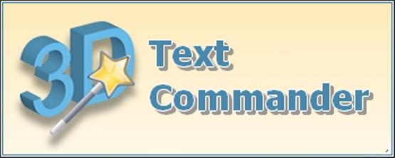 Insofta 3D Text Commander 3.0.3 Portable by DrillSTurneR