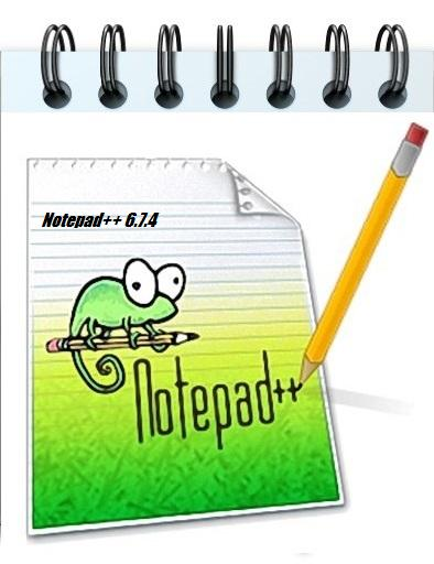 Notepad++ 6.7.4 Je suis Charlie edition (2015) + Portable