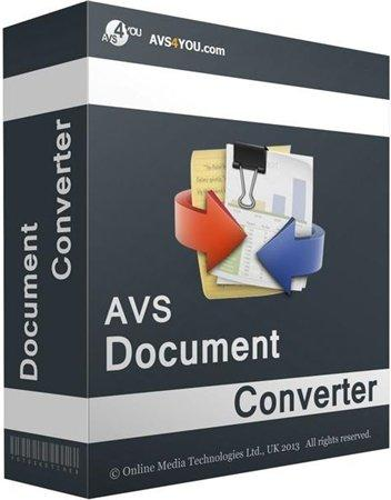 AVS Document Converter 3.0.2.238 (2016) PC | Portable by Spirit Summer