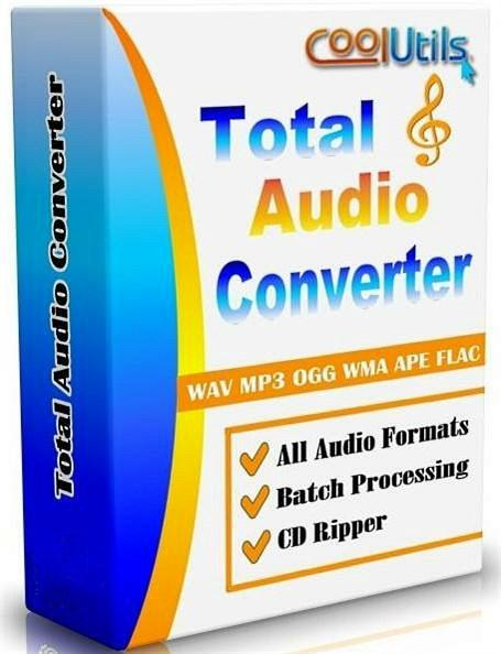 CoolUtils Total Audio Converter 5.2.74 Rus RePack by KpoJIuK (Тихая установка)