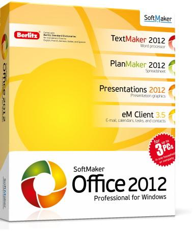 SoftMaker Office Professional 2012 rev. 698 RePack by KpoJIuK