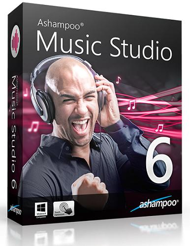Ashampoo Music Studio 6.0.2.27 (2015) RePack by D!akov