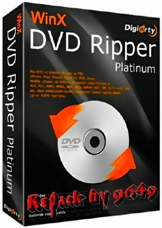 WinX DVD Ripper Platinum 7.5.14 (2016) РС | RePack & Portable by 9649