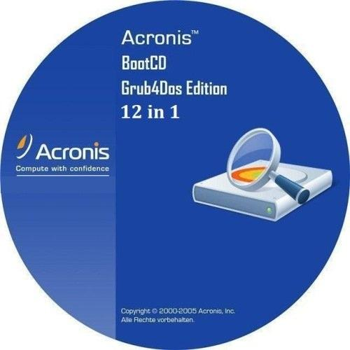 Acronis BootDVD 2013 Grub4Dos Edition v.11 (06.09.2013) 12 in 1