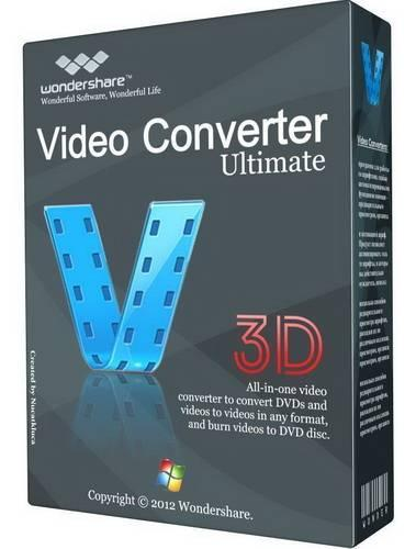 Wondershare Video Converter Ultimate 8.0.5.1 + Rus