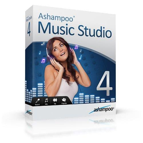 Ashampoo Music Studio 4.0.5.9 (Rus) Repack by KpoJIuK \ Portable