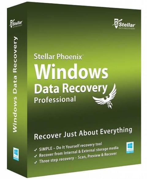Stellar Phoenix Windows Data Recovery Professional 6.0.0.1 (Ru) RePack + Portable