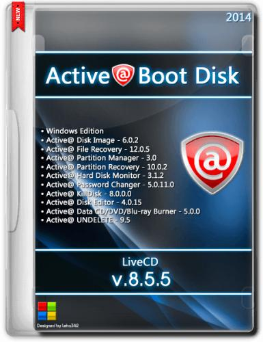 Active@ Boot Disk LiveCD v.8.5.5