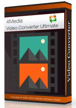 4Media Video Converter Ultimate 7.8.7 Build 20150209 + Rus