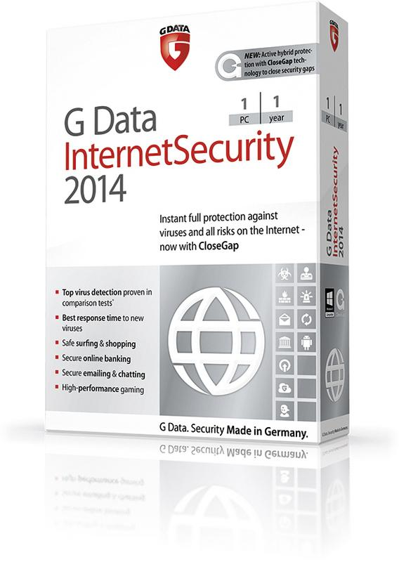 G Data InternetSecurity 2014 (Free 180 days OEM German)