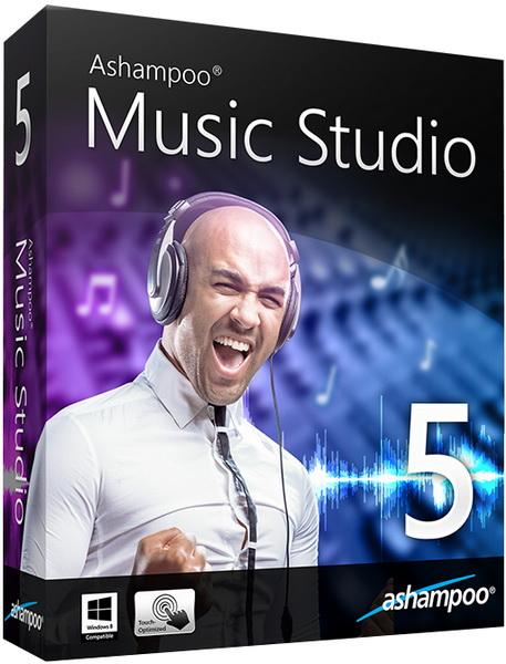 Ashampoo Music Studio 5.0.1.12 RePack (& portable) by KpoJIuK