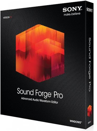 SONY Sound Forge Pro 11.0 Build 299 (2015) РС