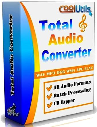 CoolUtils Total Audio Converter 5.2.0.145 (2016) PC | Portable by Spirit Summer