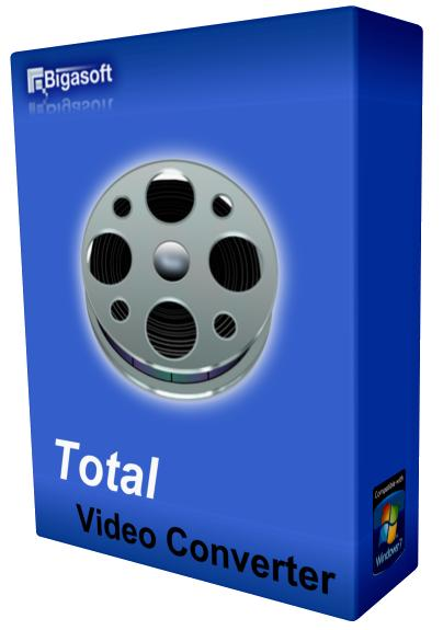 Bigasoft Total Video Converter 4.6.0.5589 Final (2015) РС | RePack by LOMALKIN