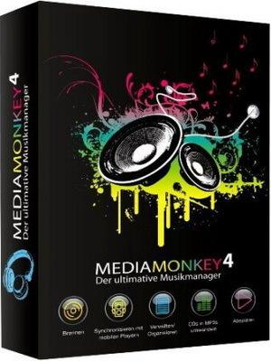 MediaMonkey Gold 4.1.6.1736 Final | RePack & portable by KpoJIuK