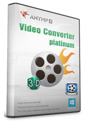AnyMP4 Video Converter Platinum 6.1.50 + RUS