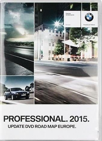 BMW Обновление DVD Дорожная карта Европы / BMW Update DVD Road MAP Europe Professional CCC (2015) 3 x DVD