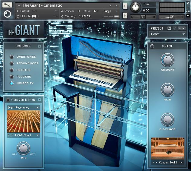 Native Instruments - The Giant: Larger Than Life Piano (KONTAKT)