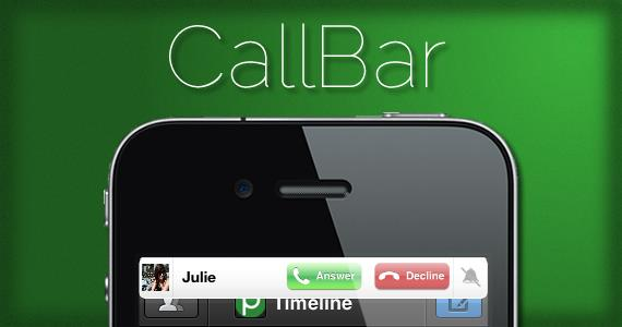 CallBar iPhone/iPod/iPad