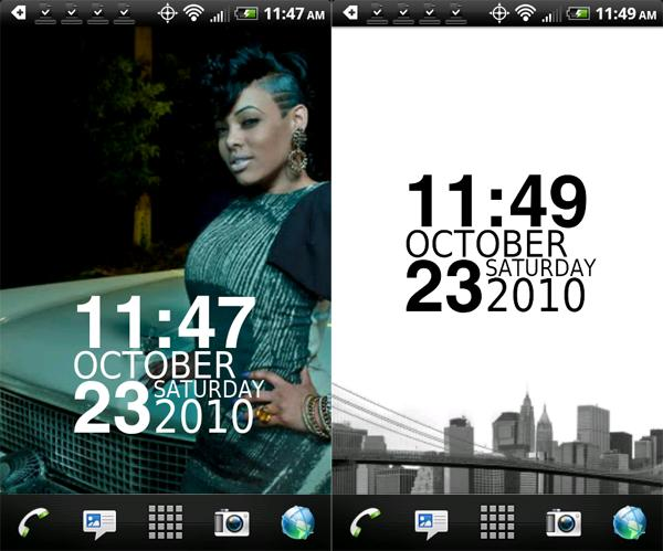 Nexus Clock Widget 3.2