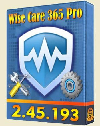 Wise Care 365 Pro 2.45 Build 193[2013, RUS, ENG]
