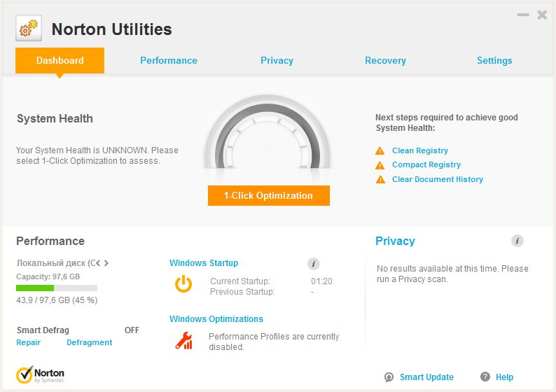 Symantec Norton Utilities 16.0.0.126 portable by p2000s