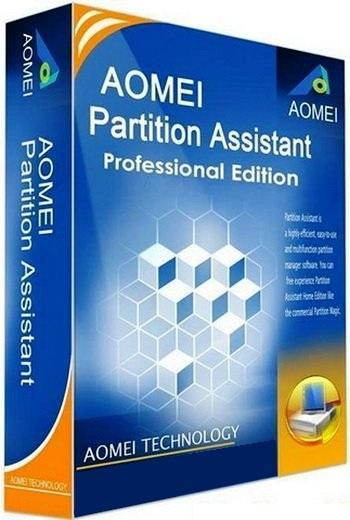 AOMEI Partition Assistant Professional Edition 5.6 RePack by D!akov (Тихая установка)