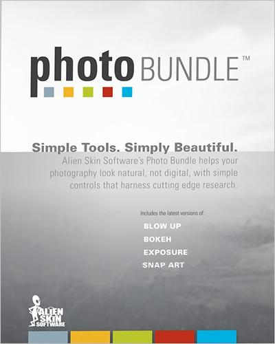 Alien Skin Software Photo Bundle collection (июль 2014)