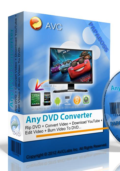 Any DVD Converter Professional 5.6.3 Rus + PortableAppZ