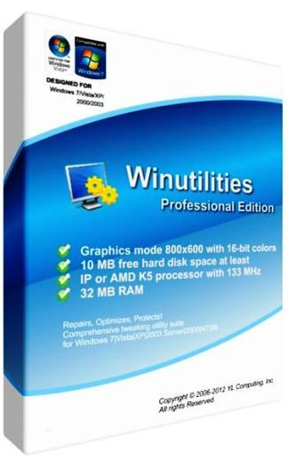 WinUtilities Professional Edition 11.25 Portable by Nbjkm