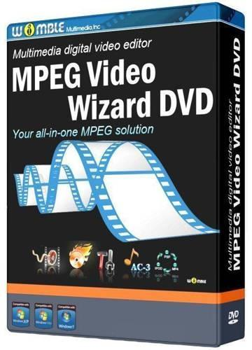 Womble MPEG Video Wizard DVD 5.0.1.111 [12.2014] (2014) РС