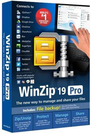 WinZip Pro 19.5 Build 11532 RePack by D!akov