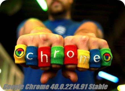 Google Chrome 40.0.2214.91 Stable (2015) PC | RePack & Portable by D!akov