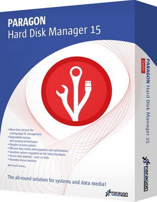 Paragon Hard Disk Manager 15 Professional 10.1.25.294 (2015) PC | RePack by D!akov